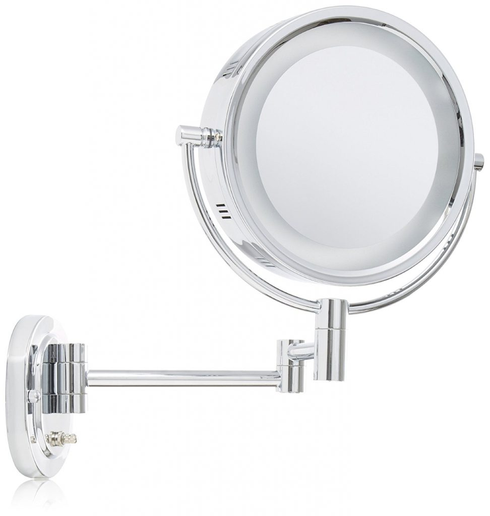 Best lighted makeup mirror the vanity mirror that every girl wants jerdon hl65c 8 inch lighted wall mount makeup mirror aloadofball Choice Image