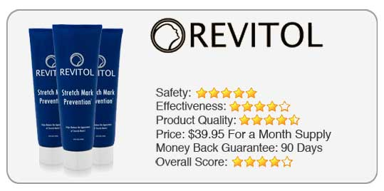 Revitol stretch mark cream ratings
