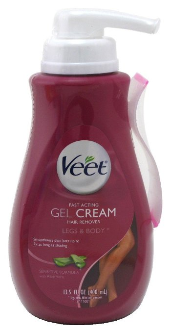 Veet Fast Acting Gel Cream Hair Remover