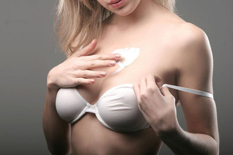 apply breast enhancement cream
