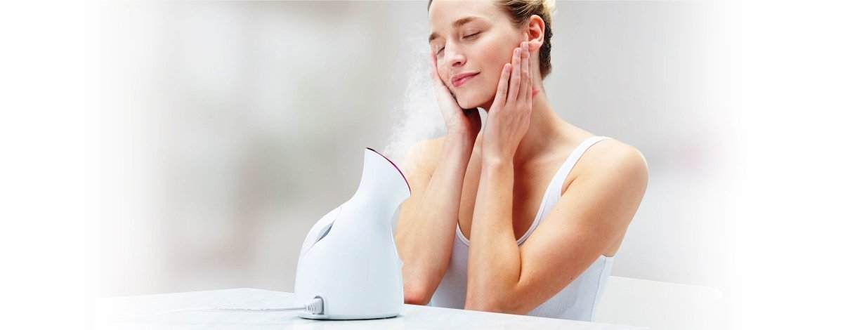 panasonic-facial-steamer-in-action