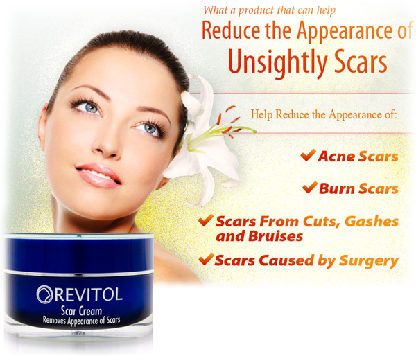 Revitol Scar Cream Review A Scar Tissue Home Removal Treatment