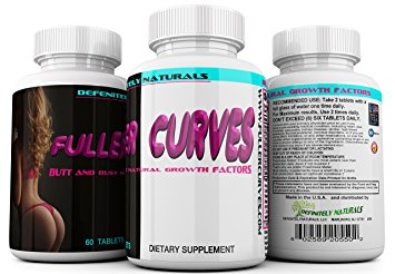 FULLER CURVES Female Butt and Bust Enlargement Pills