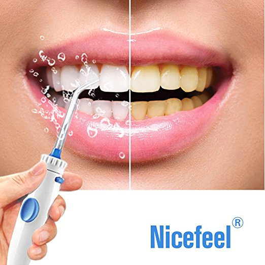 Nicefeel water floss before after